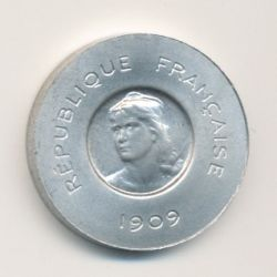 10 Centimes 1909 Rude