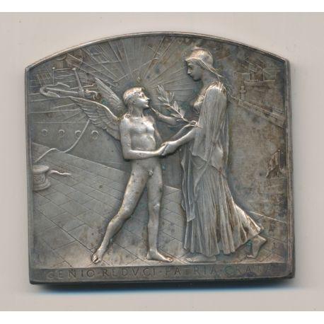 Médaille - Exposition internationale de chicago - 1893 - bronze argenté - Roty