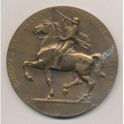 Médaille - Exposition Universelle Bruxelles - 1910 - Bronze - G.Devreese