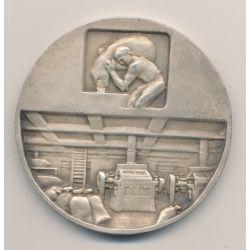 Médaille - Association de la meunière Française - 1933/1958 - bronze argenté