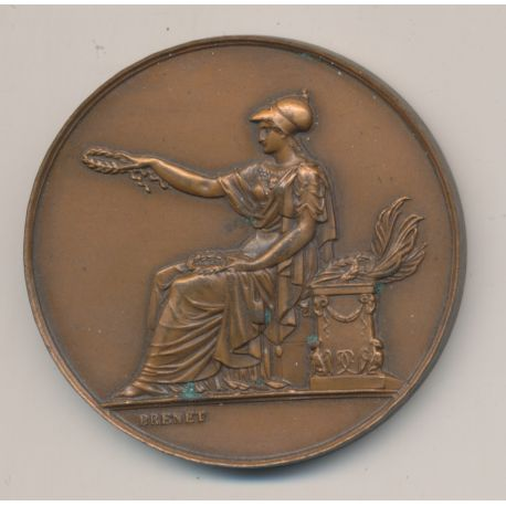 Médaille - Société canine Ile de France - 2e prix - bronze - Brenet
