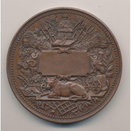 Médaille - Société des agriculteurs de France - bronze - Lagrange