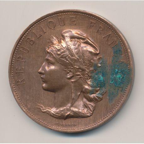 Médaille - Société d'agriculture des deux sèvres - bronze - F.Vernon