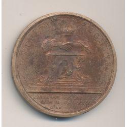 Médaille - Louis XIV - 1669 - bronze