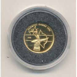 Mongolie - 500 Tugrik 1996 - JO 1996 - Tir à l'arc