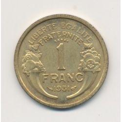1 Franc 1931 Essai Morlon