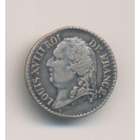 Médaille - Louis XVIII et Henri III - argent