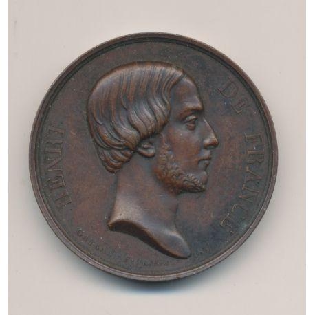 Médaille - Henri V - cuivre