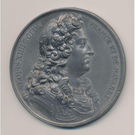 Médaille - Louis XIV Commémorations  - étain