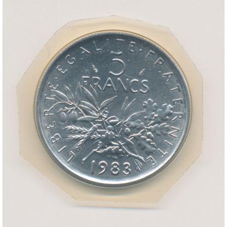 5 Francs Semeuse - 1983