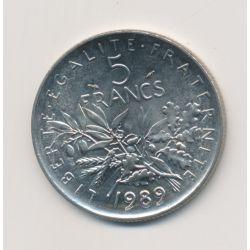 5 Francs Semeuse - 1989