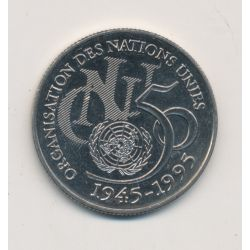 5 Francs ONU - 1995