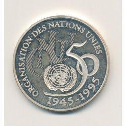 5 Francs ONU - 1995 - Belle épreuve