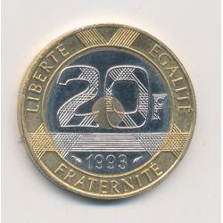 20 Francs Mont st michel - 1993