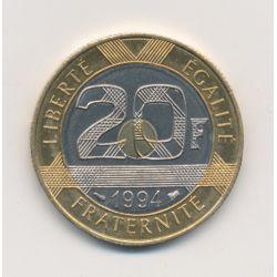20 Francs Mont st michel - 1994 - abeille