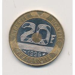 20 Francs Mont st michel - 1996