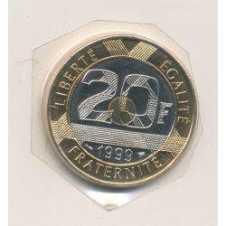 20 Francs Mont st michel - 1999