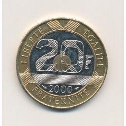 20 Francs Mont st michel - 2000