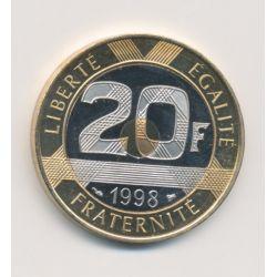 20 Francs Mont st michel - 1998 - Belle épreuve