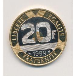 20 Francs Mont st michel - 1999 - Belle épreuve