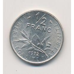 50 Centimes Semeuse - 1972