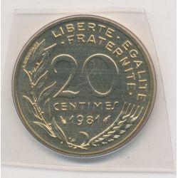 20 Centimes Marianne - 1981