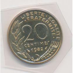 20 Centimes Marianne - 1982