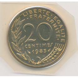 20 Centimes Marianne - 1983