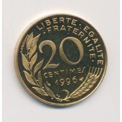 20 Centimes Marianne - 1996 - Belle épreuve