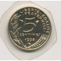 5 Centimes Marianne - 1998