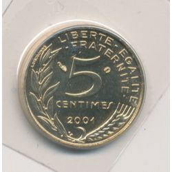 5 Centimes Marianne - 2001