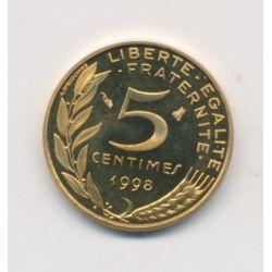 5 Centimes Marianne - 1998 - Belle épreuve