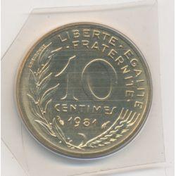 10 Centimes Marianne - 1981