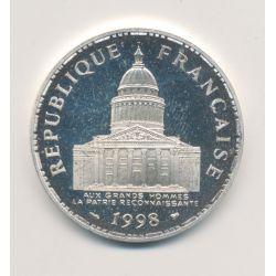 100 Francs Panthéon - 1998 - Belle épreuve