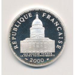 100 Francs Panthéon - 2000 - Belle épreuve