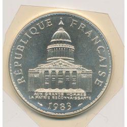 100 Francs Panthéon - 1983 - argent - FDC