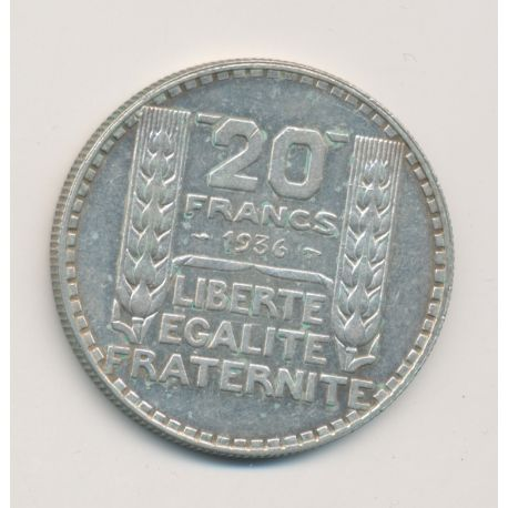 20 Francs Turin - 1936