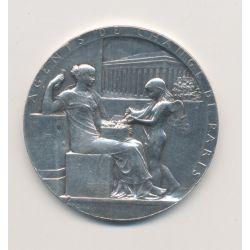 Médaille - Agents de change Paris - 1572-1898 - argent - Roty