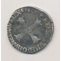 Henri IV - 1/4 écu - 1603 C St Lo