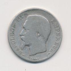 Napoléon III - Tête nue - 2 Francs - 1857 A Paris