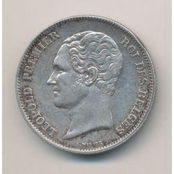 Belgique - 2 1/2 Francs - 1849 - Léopold 1er - argent