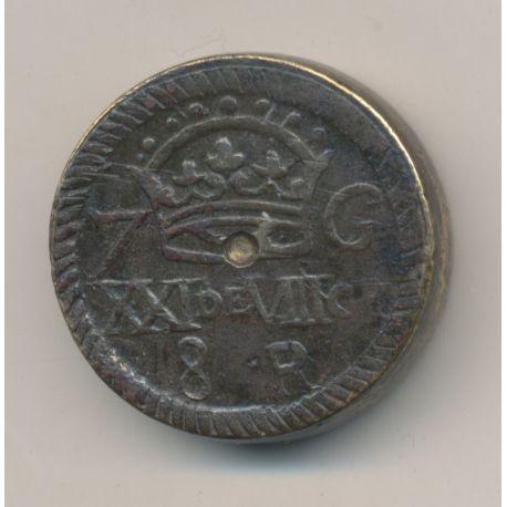 Poids monétaire - 8 Reales 7 grana - Armes de l'Espagne
