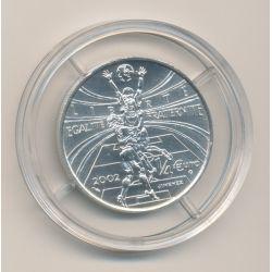 1/4 Euro 2002 - Allez la France - argent
