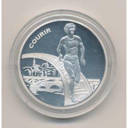 1 1/2 Euro - Courir - 2003 - argent BE - Paris 2003