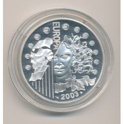 1 1/2 Euro - Europa - argent BE - 2003