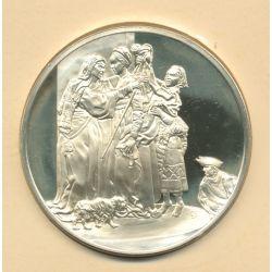 Trésors de Rembrandt - Médaille N°49 - La Visitation - argent
