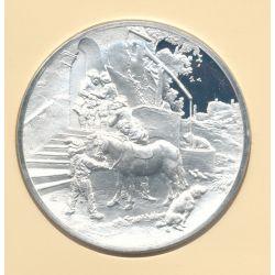 Trésors de Rembrandt - Médaille N°28 - Le Bon samaritain - argent