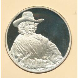 Trésors de Rembrandt - Médaille N°47 - Portrait Nicolas van bambeeck - argent