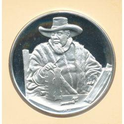 Trésors de Rembrandt - Médaille N°40 - Portrait de Cornelius Claez - argent