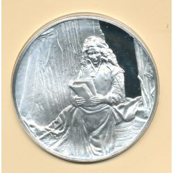 Trésors de Rembrandt - Médaille N°30 - Portrait de Jan Six - argent
